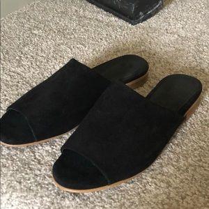 Genuine Suede Sandals